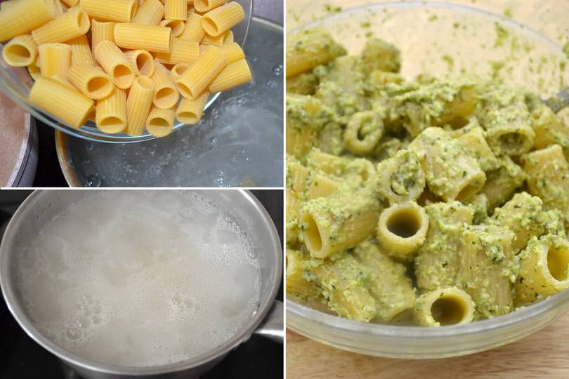 2 cuocere pasta