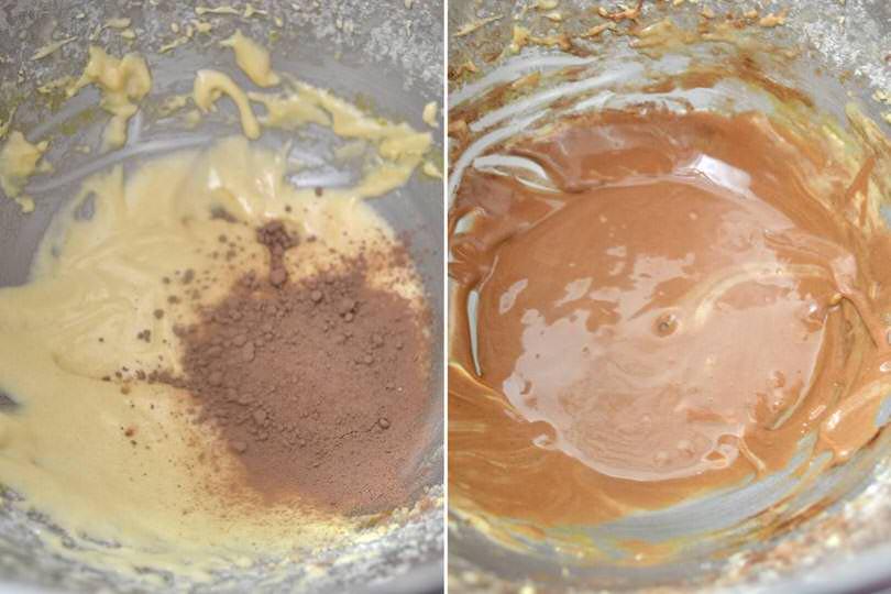 4 aggiungere cacao
