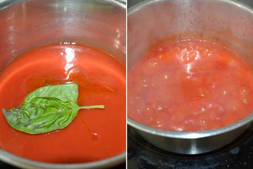 4 cuocere pomodoro