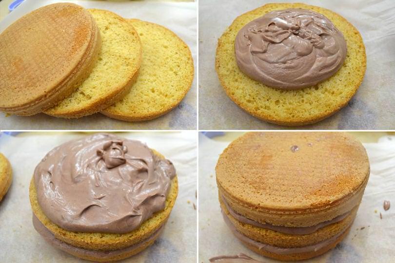9 farcire torta piccola