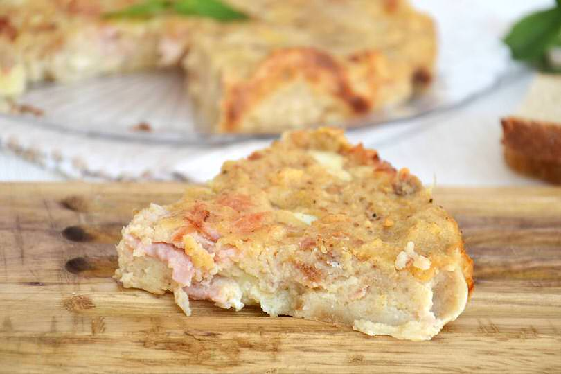 Ricetta torta di pane con bimby