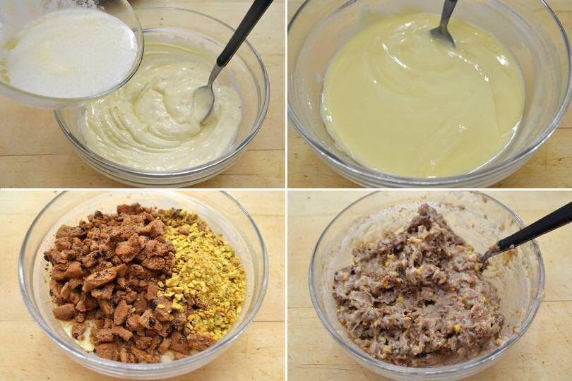 3 amalgamare ingredienti
