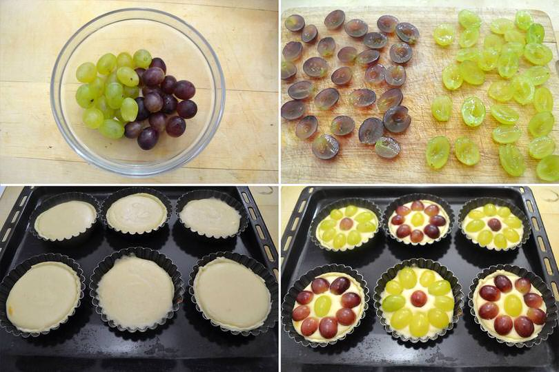4 aggiungere uva