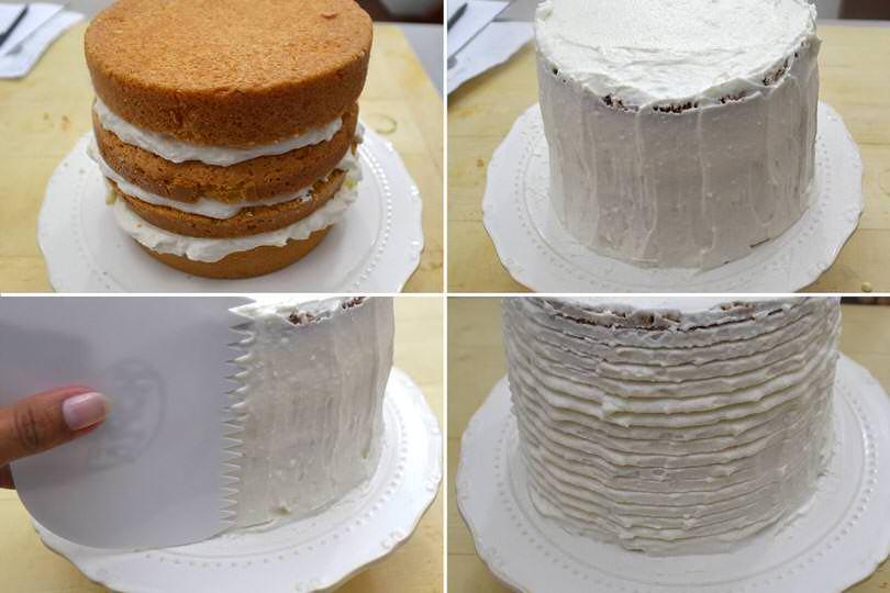 6 glassare torta