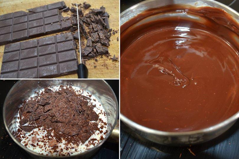 7 glassa al cioccolato