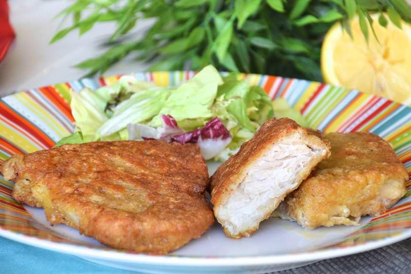 Cotolette di pesce ricetta cotolette di pesce di misya for Ricette primi piatti originali