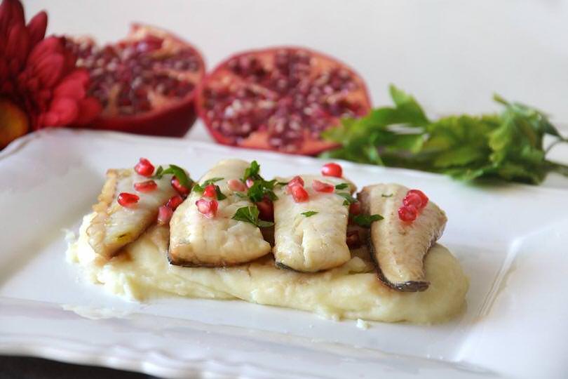 Filetti di branzino al melograno ricetta filetti di - Secondi piatti da cucinare in anticipo ...