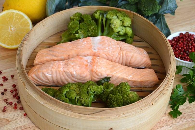 Ricette secondi piatti a base di salmone ricette popolari sito culinario - Ricette con forno a vapore ...