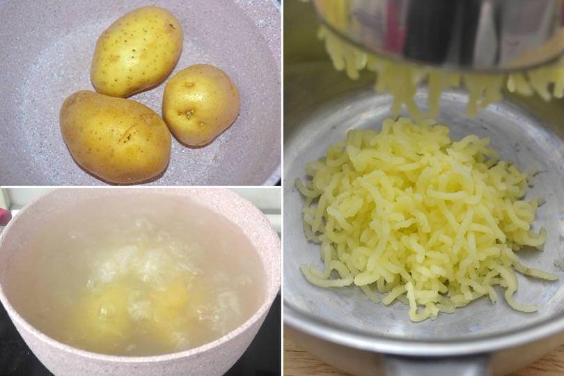 1 bollire patate