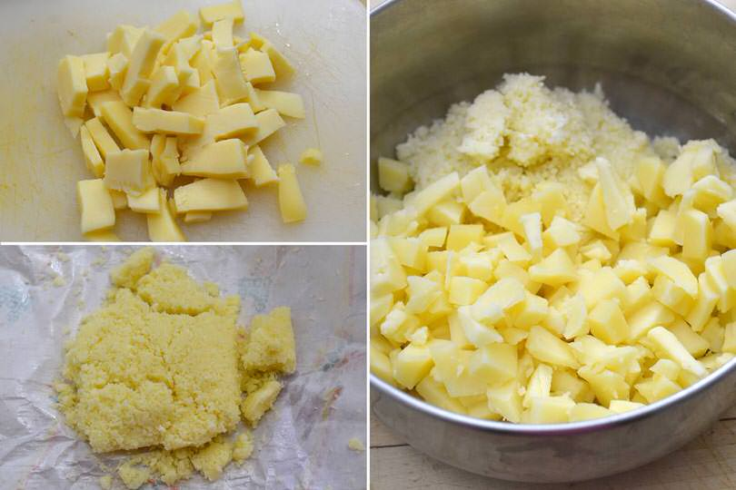 1 formaggi nel pentolino