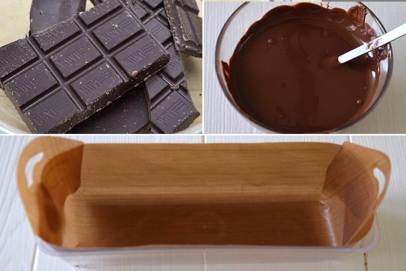 1 sciogliere cioccolato