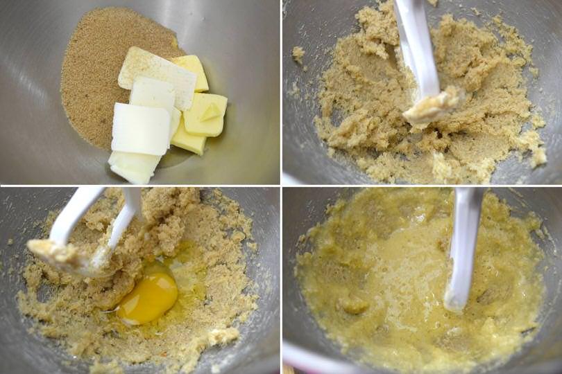 1 zucchero farina uova