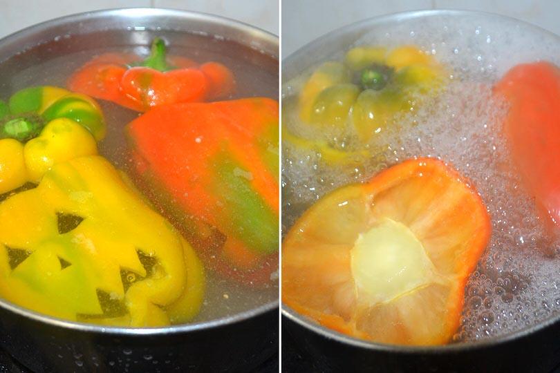 2 bollire peperoni