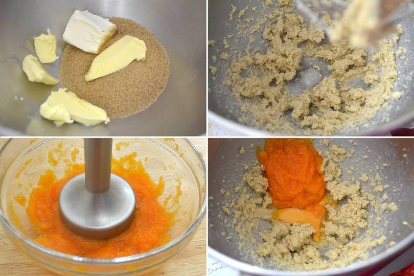 2 zucchero burro zucca