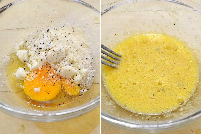 3 battuto di uovo