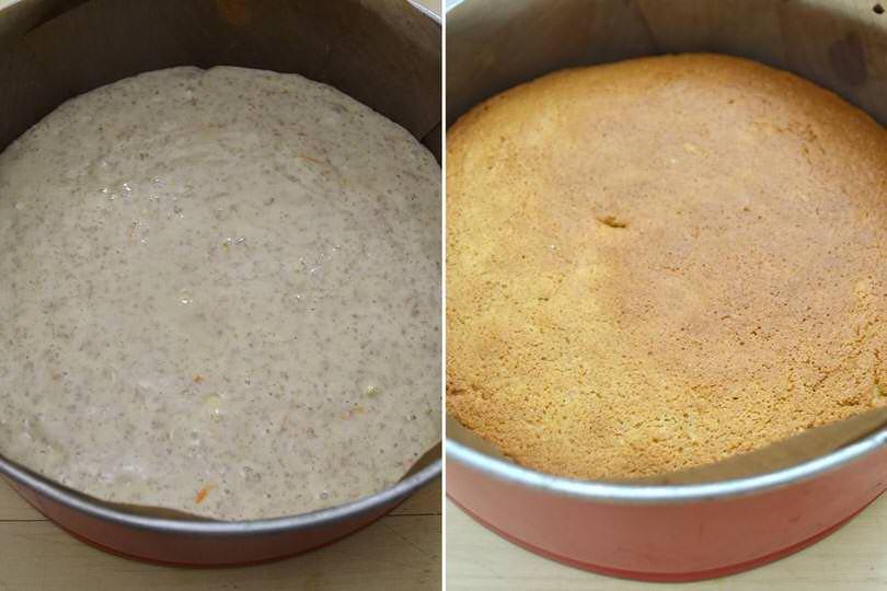 3 cuocere torta