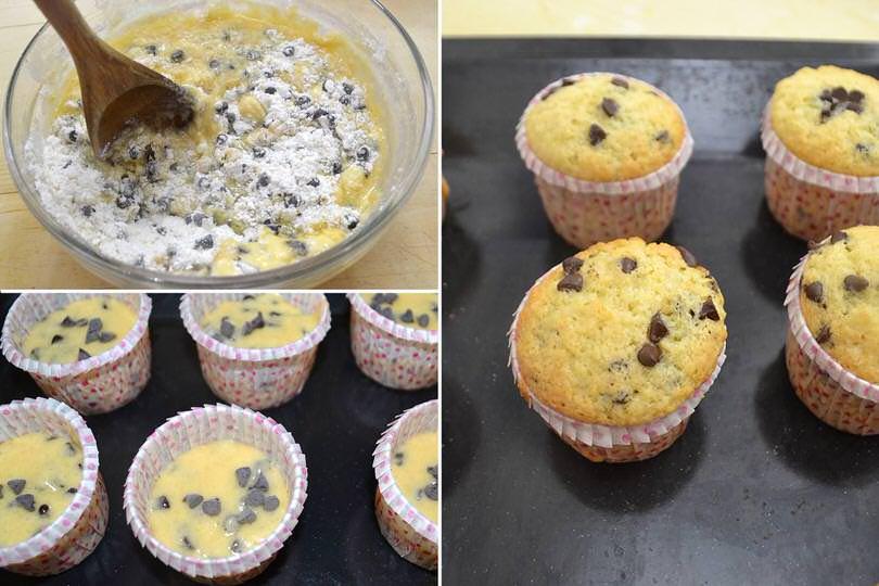 3 infornare muffin