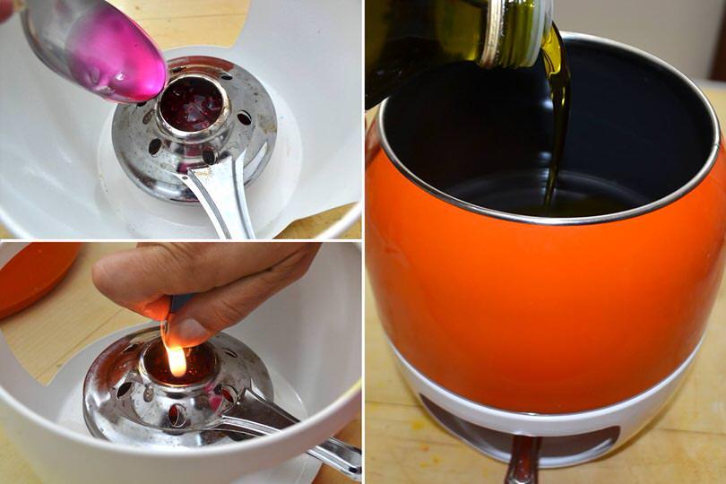 3 scaldare olio