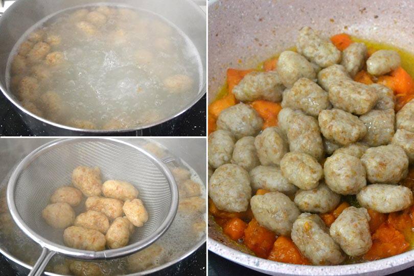 4 cuocere gnocchi