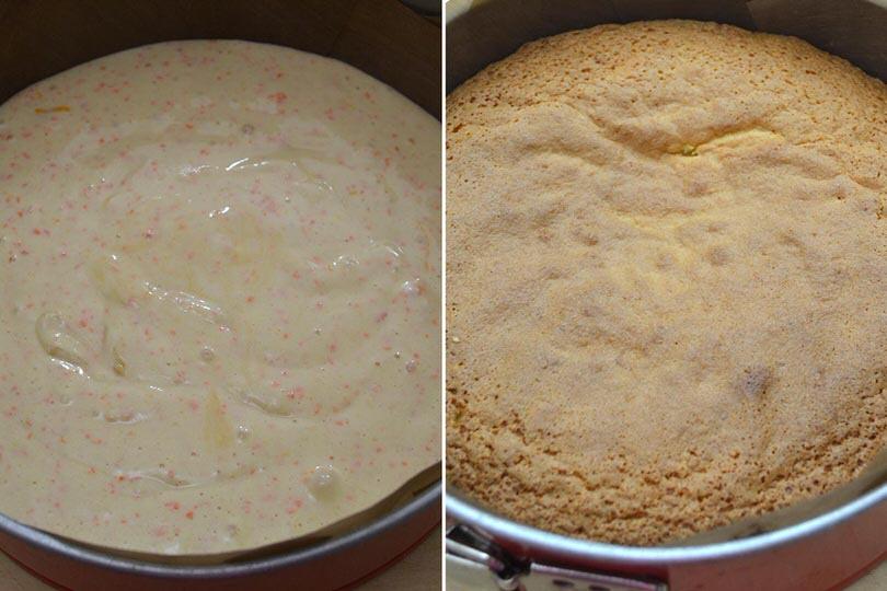 4 cuocere torta