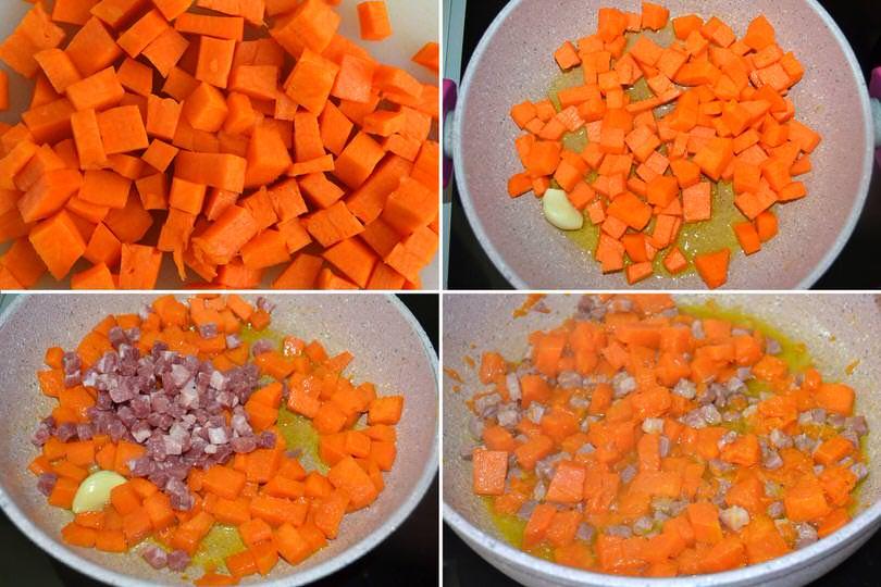 4 cuocere zucca