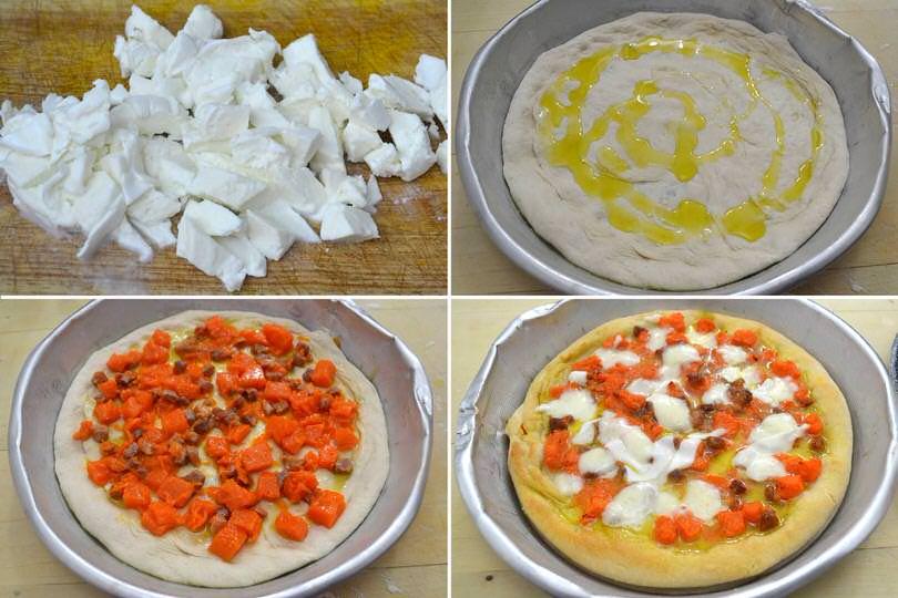 5 condire e cuocere pizza
