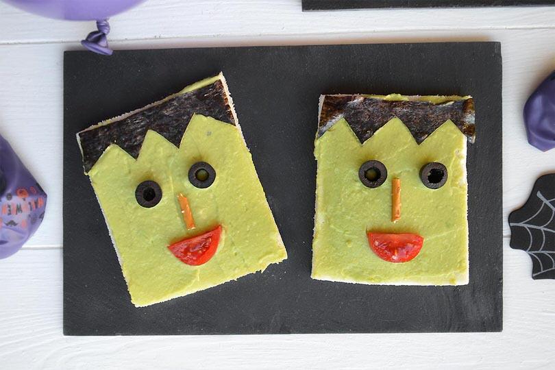Frankenstein Toast