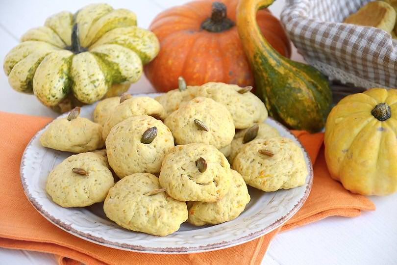 Biscotti alla zucca