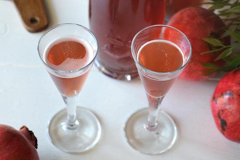 Liquore al melograno ricetta bimby