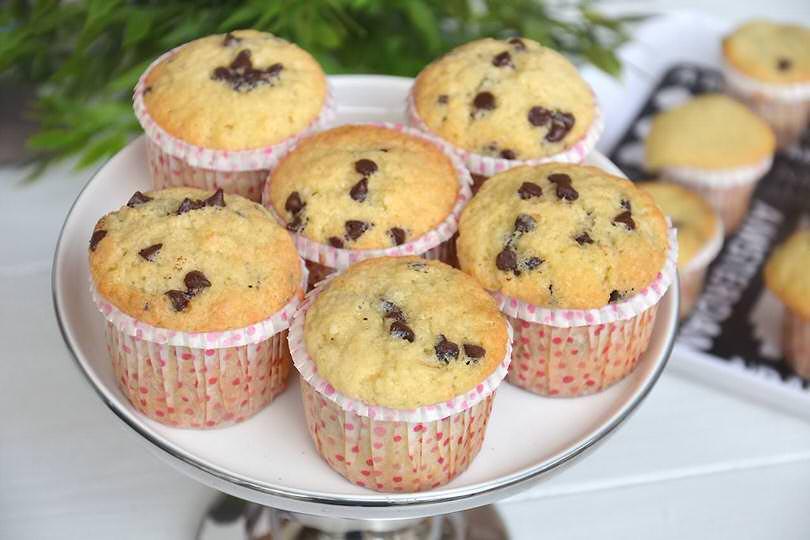 Muffin Con Gocce Di Cioccolato Ricetta Muffin Con Gocce Di