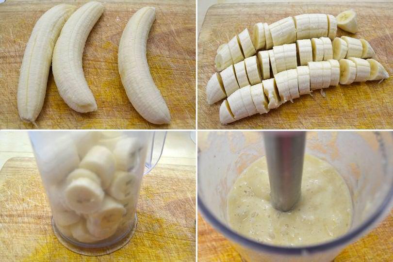 1 frullare banana