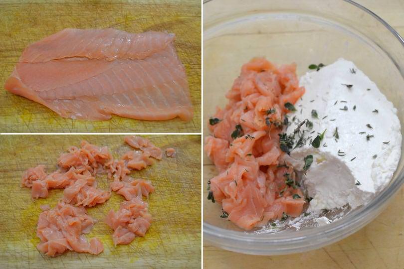 2 tagliare salmone