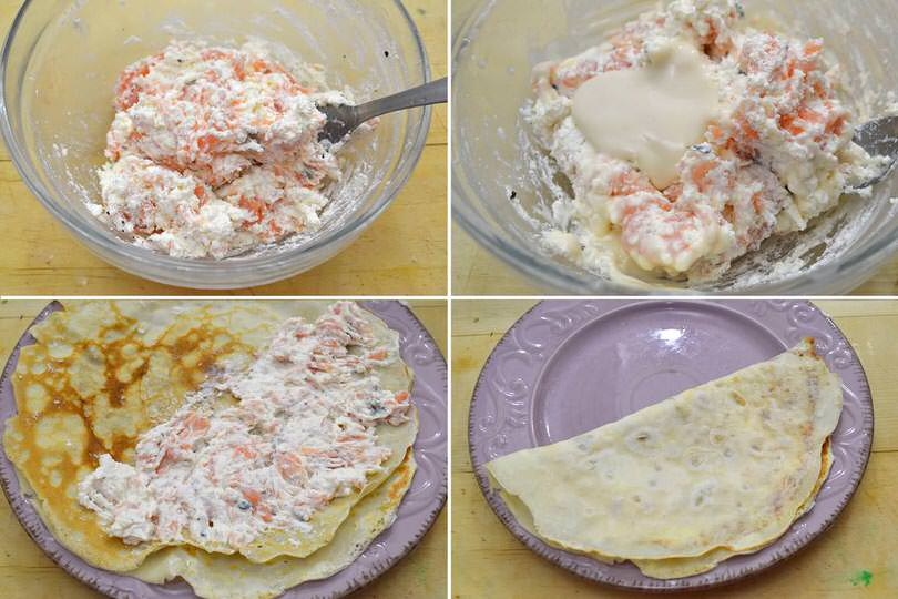 Ricetta crepes salate di misya