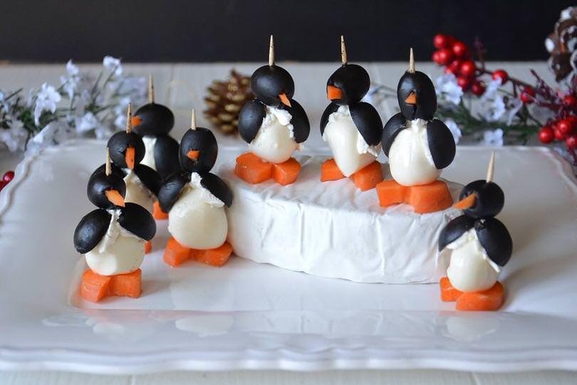 Pinguini mozzarella e olive