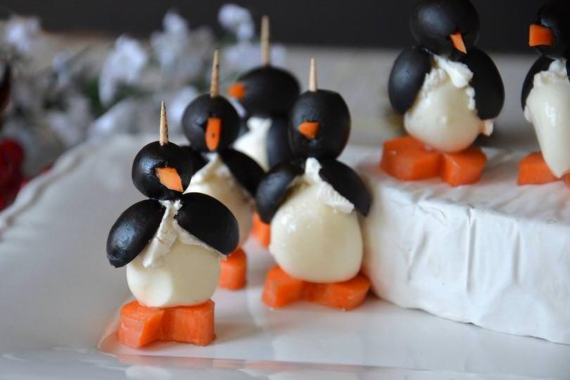 pinguini di mozzarella