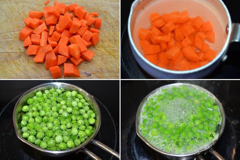 1 cuocere verdure