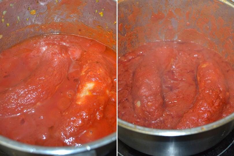 2 aggiungere pomodoro