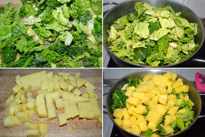 2 verza e patate