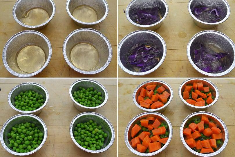 3 aggiungere le verdure