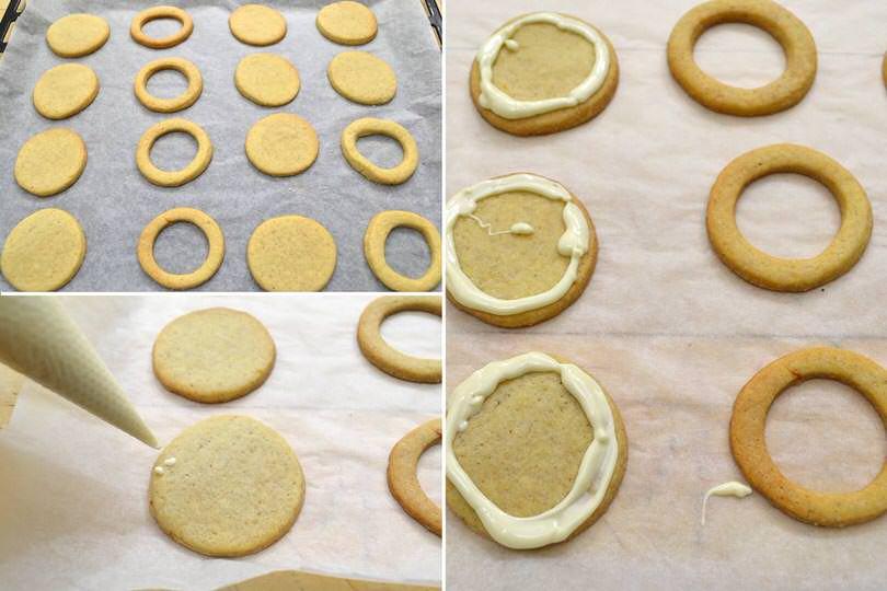 3 glassare biscotti