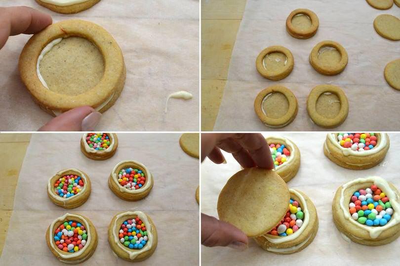 4 assemblare biscotti