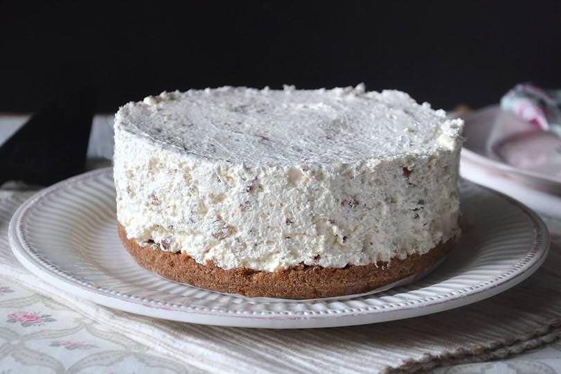 6 cheesecake al torrone