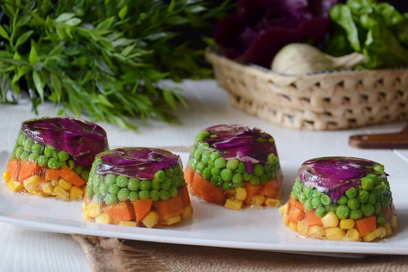 Aspic di verdure