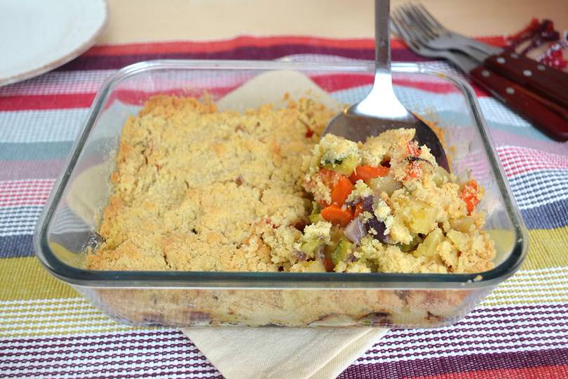 Crumble di verdure