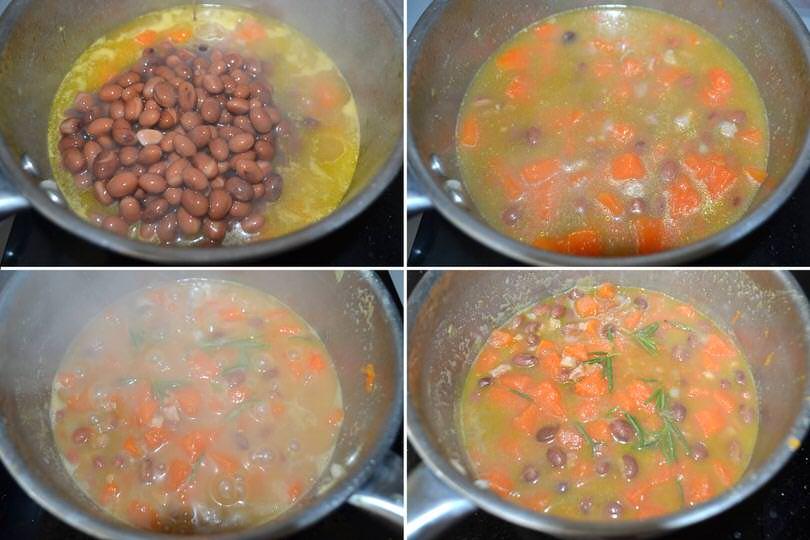 cuocere zuppa