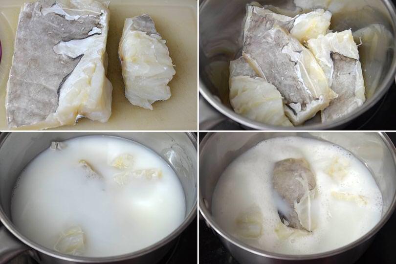 1 cuocere baccala