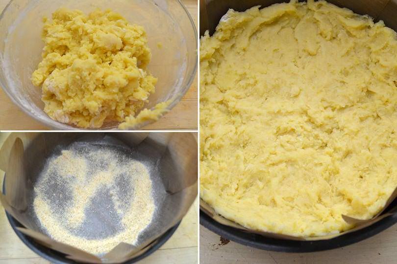 2 strato di patate