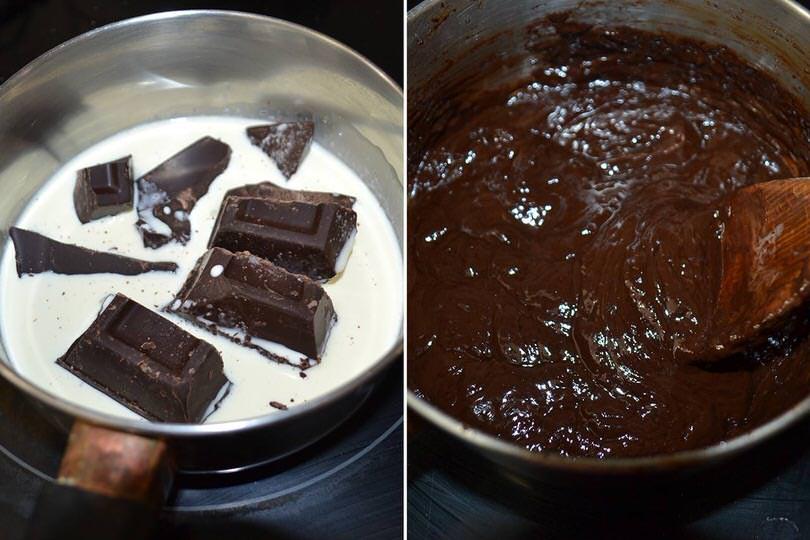 4 sciogliere cioccolato