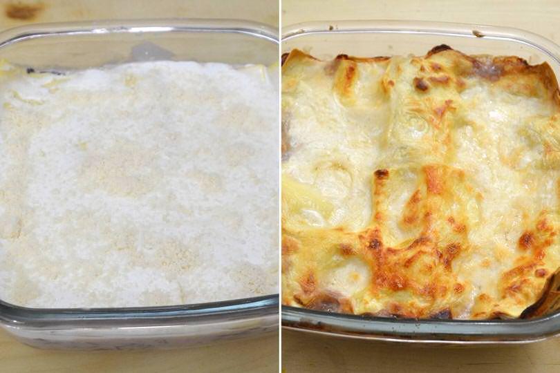 6 cuocere in forno