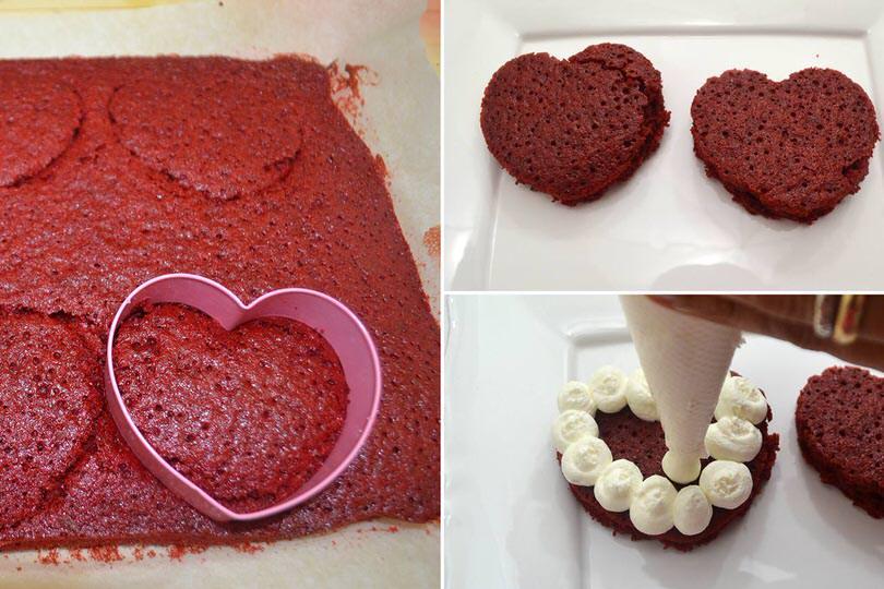 6 tagliare forma cuore